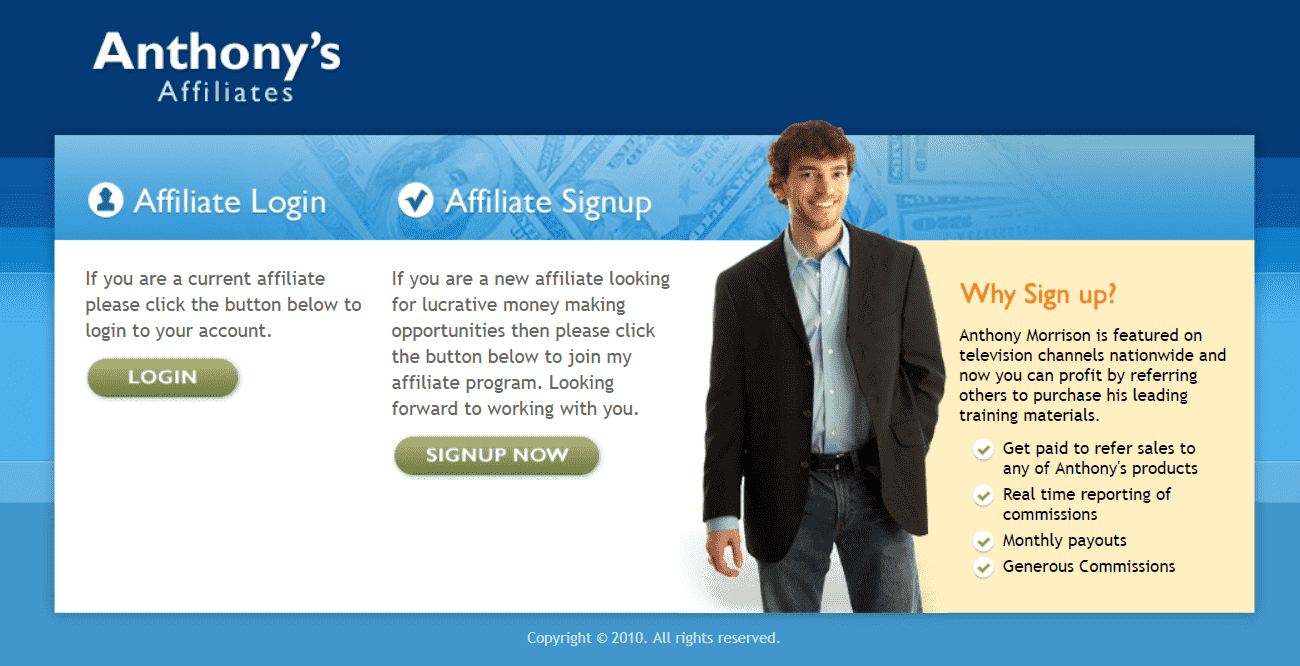 Is Anthony Morrison A Scam Artist Affiliate Page - Your Online Revenue-min