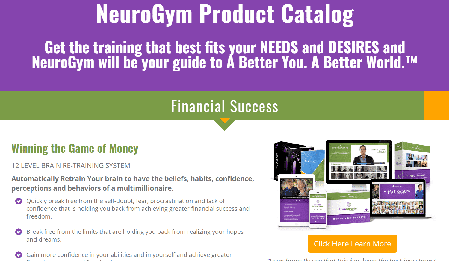 Is John Assaraf A Scam Artist NeuroGym - Your Online Revenue-min