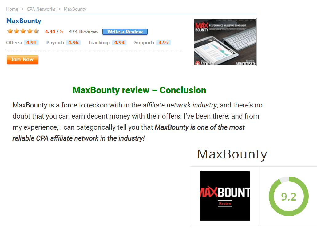 Is MaxBounty A Scam Positive Reviews - Your Online Revenue-min