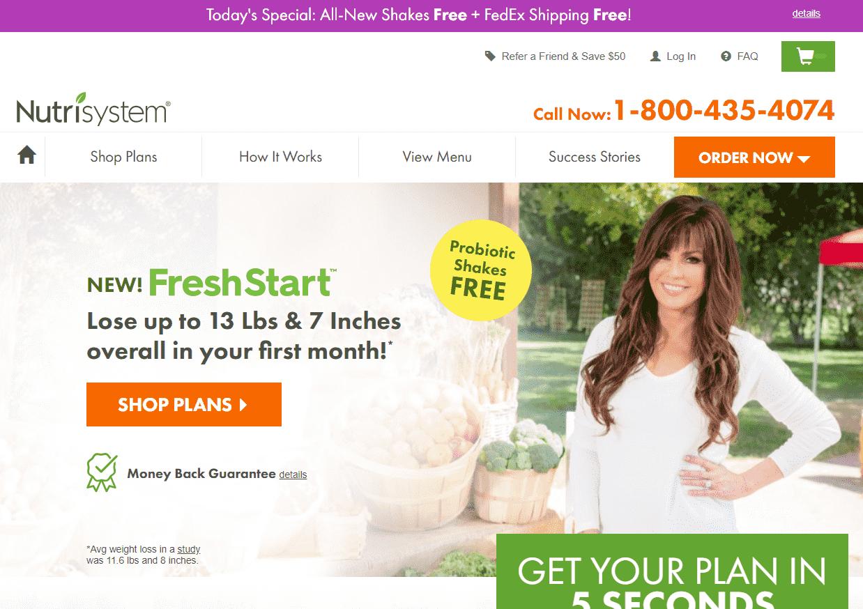 Is Nutrisystem Scam Landing Page - Your Online Revenue-min
