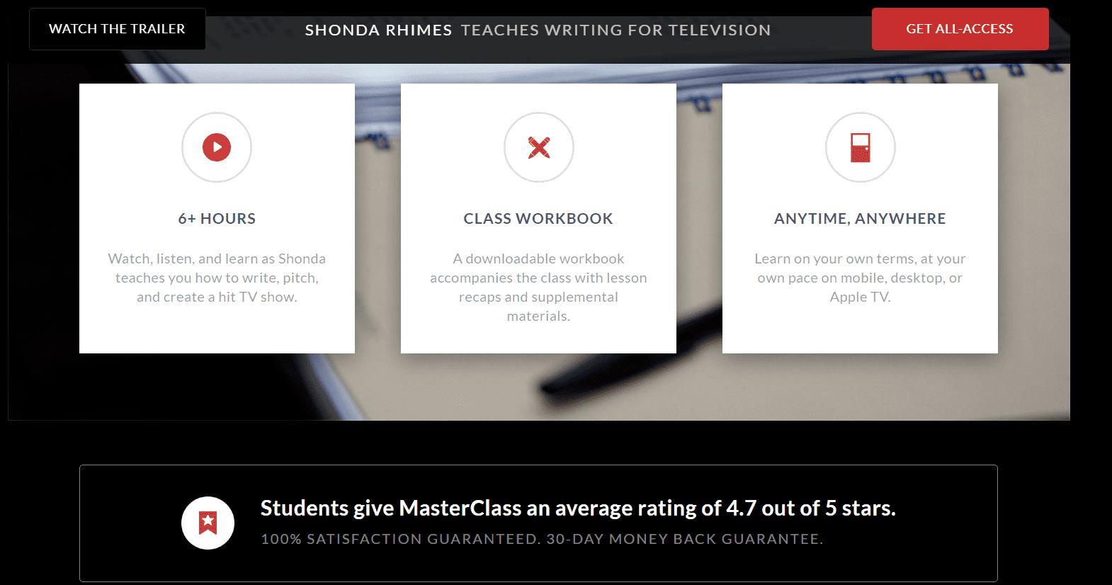 MasterClass Reviews Shonda - Your Online Revenue-min