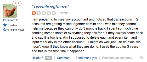 Mint.Com Review Negative 1