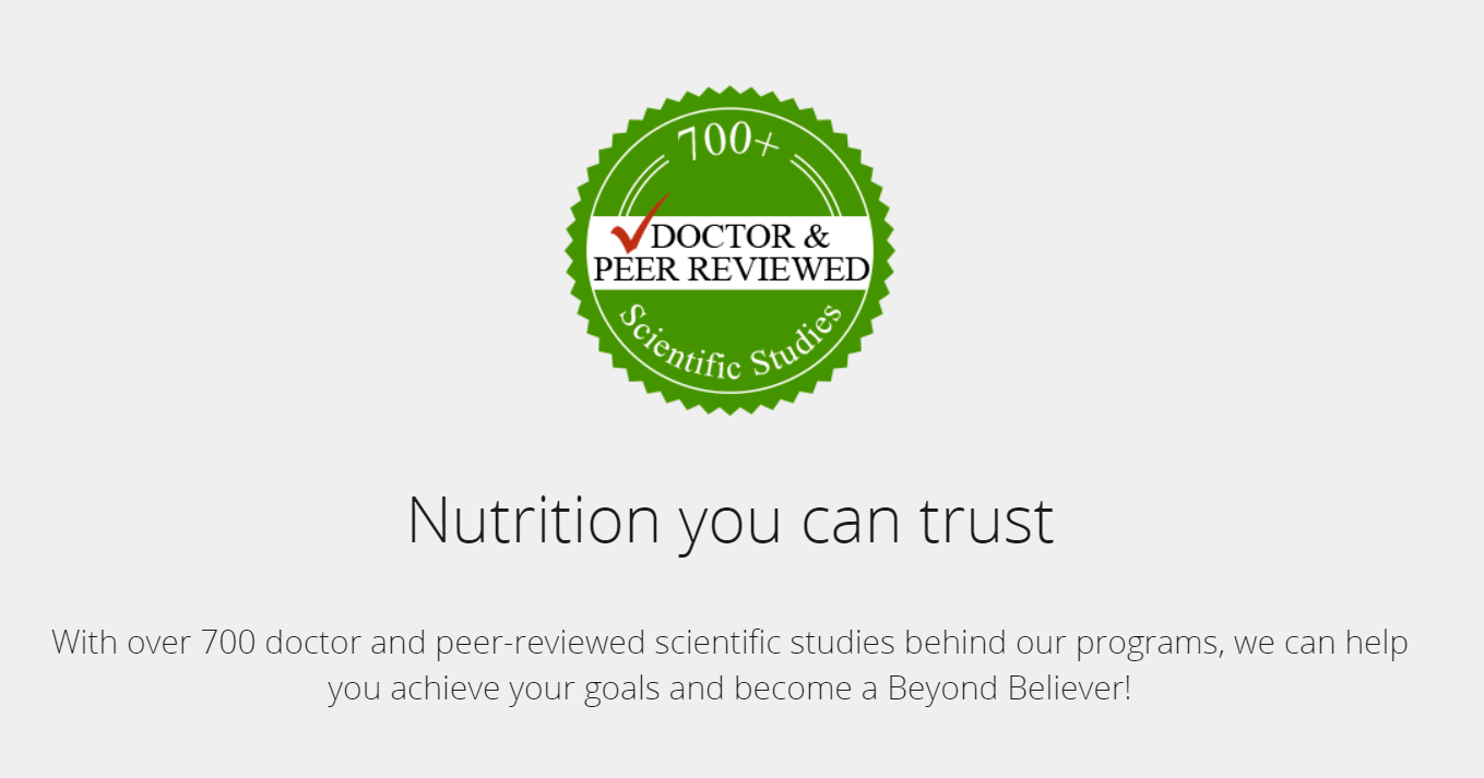 The Beyond Diet Reviews Guarantee