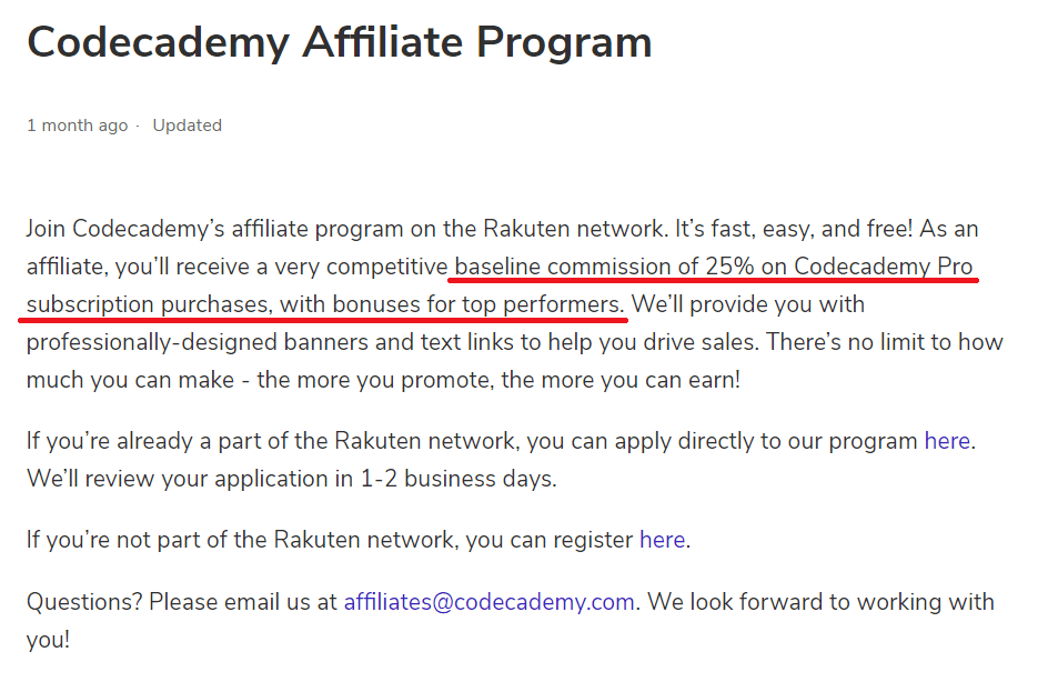 Codecademy Review Affiliate