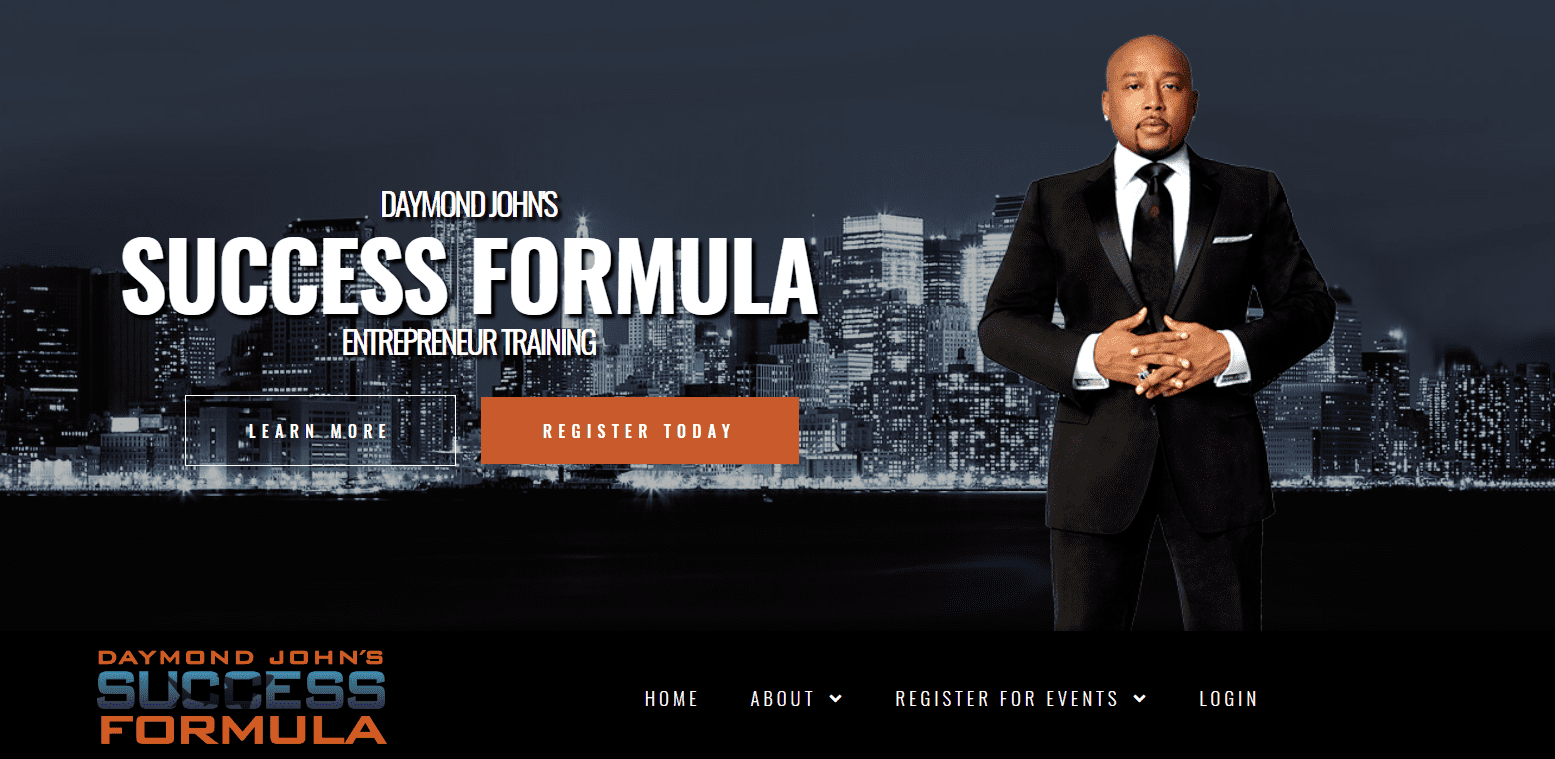 Daymond John Success Formula Reviews Landing Page Training-min