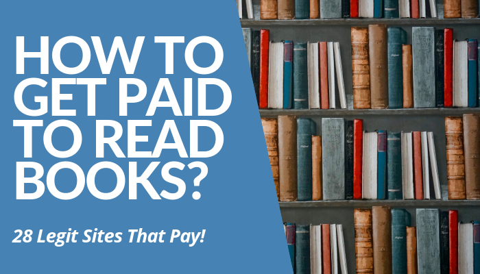 Learn How To Get Paid To Read Books. 28 Legit Sites Unveiled & Compiled Book Publishing Companies That Pay Real Money. Click Here To See Entire List. Read More.