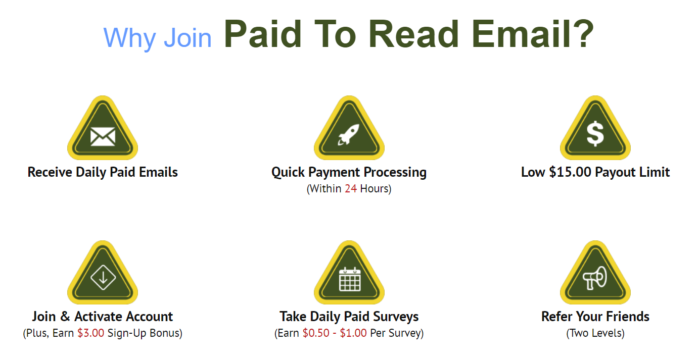 How To Get Paid To Read Emails Benefits