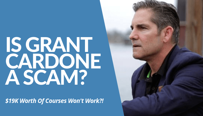 Is Grant Cardone A Scam? Grant Cardone University Courses Worth More Than $19K Don't Work? Learn More About Him & His Services Before Buying. Click Here & Read.