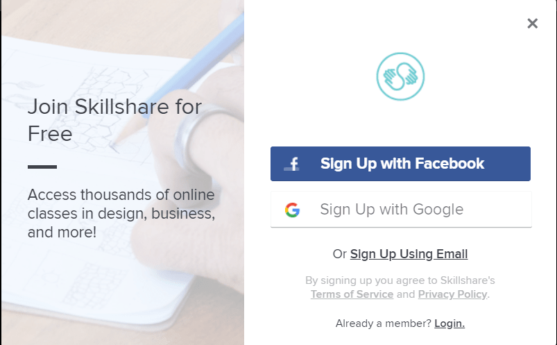 Is Skillshare A Scam Sign Up-min