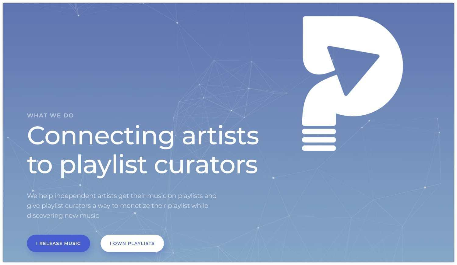 Playlist Push Review Landing Page
