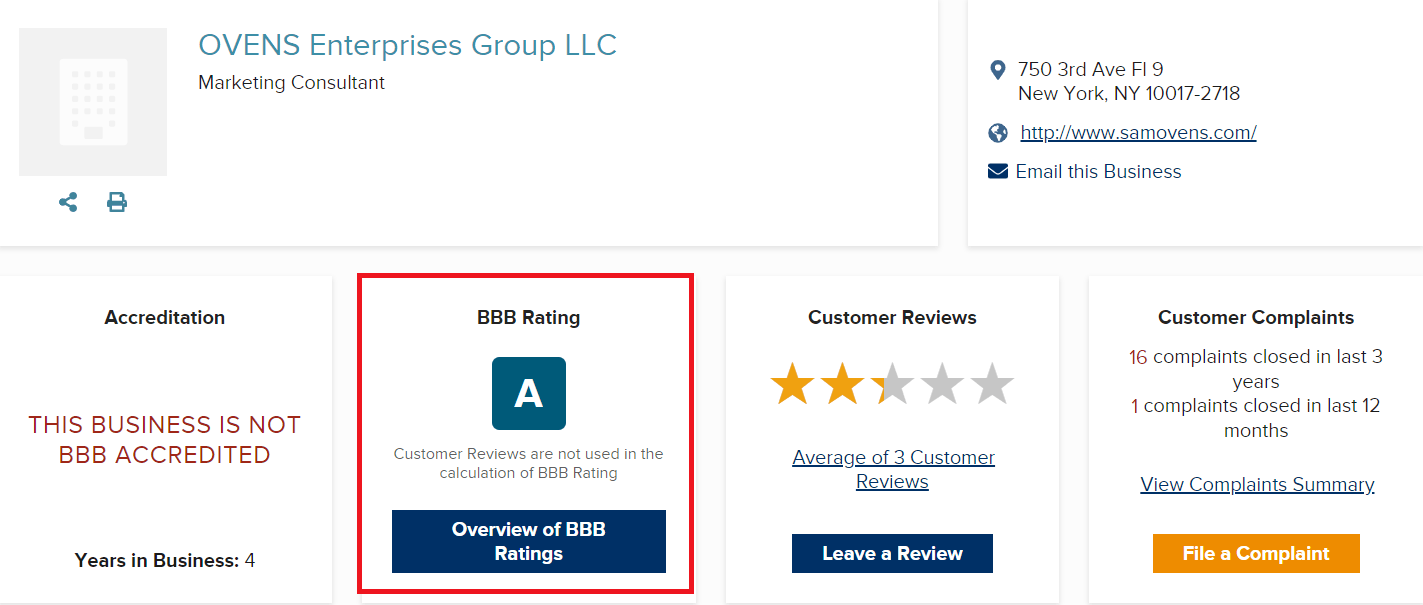 Is Sam Ovens Consulting A Scam BBB High Rating 1