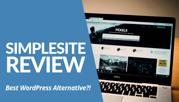 In My Simplesite Review, I Compared WordPress VS Wix, 2 Leading CMS Platforms For Websites. It's Easy To Use But Lack Of Features VS WordPress. Read More Here.