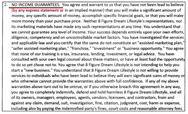 Is 8 Figure Dream Lifestyle A Scam Terms-min