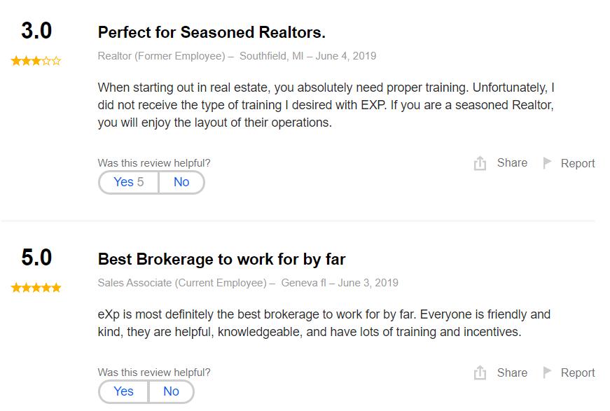 eXp Realty Reviews Reviews
