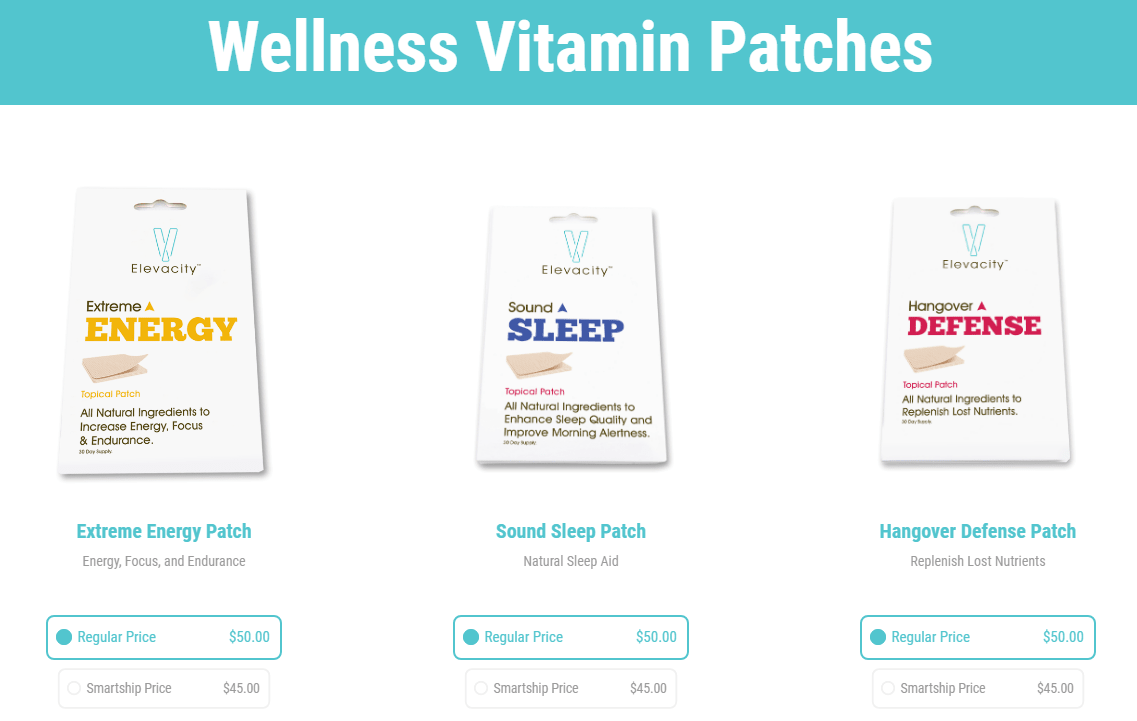 Elevacity Reviews Vitamin Patches