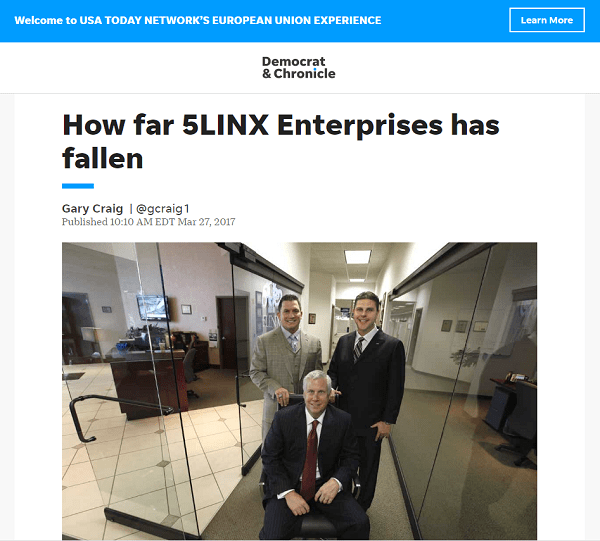 Is 5LINX A Scam Headlines