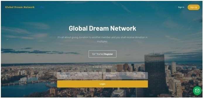 Is Global Dream Network A Scam Landing Page