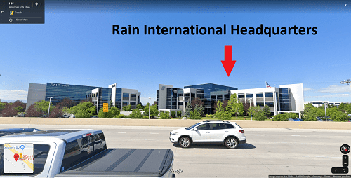 Is Rain International A Scam Headquarters Address
